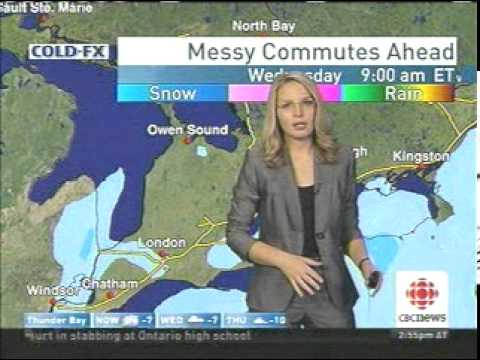 Winter Storm Coming To Southern Ontario (Canada)