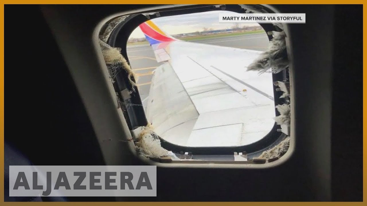 🛬 Southwest begins probe into fatal engine explosion | Al Jazeera English