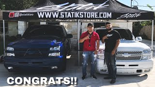 GIVEAWAY WINNER PICKS UP HIS NEW TRUCK!