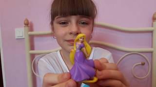Открываем сюрпризы ZURU с принцессами Дисней, Disney Princess Fashems  и новый Киндер Макси Пчелки!
