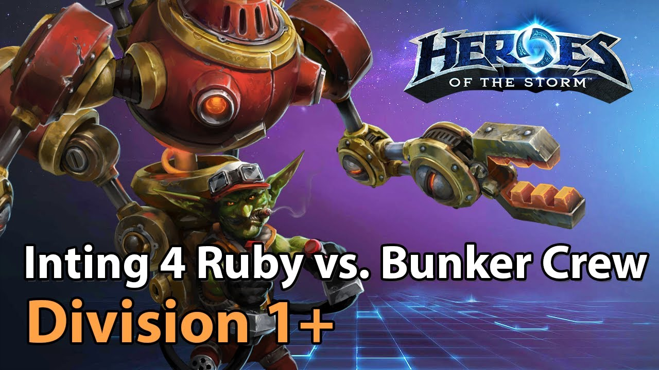 Inting for Ruby vs. Bunker Crew - Heroes of the Storm 2021