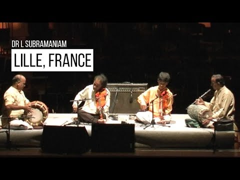 Dr L Subramaniam at Lille, France