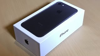 Unboxing the brand new iPhone 7 128GB Matte Black