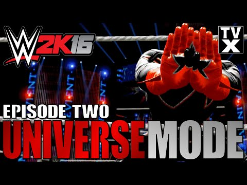 Let's Play - WWE 2K16 Universe Mode Ep.2 [WWE 2K16 Gameplay Commentary]