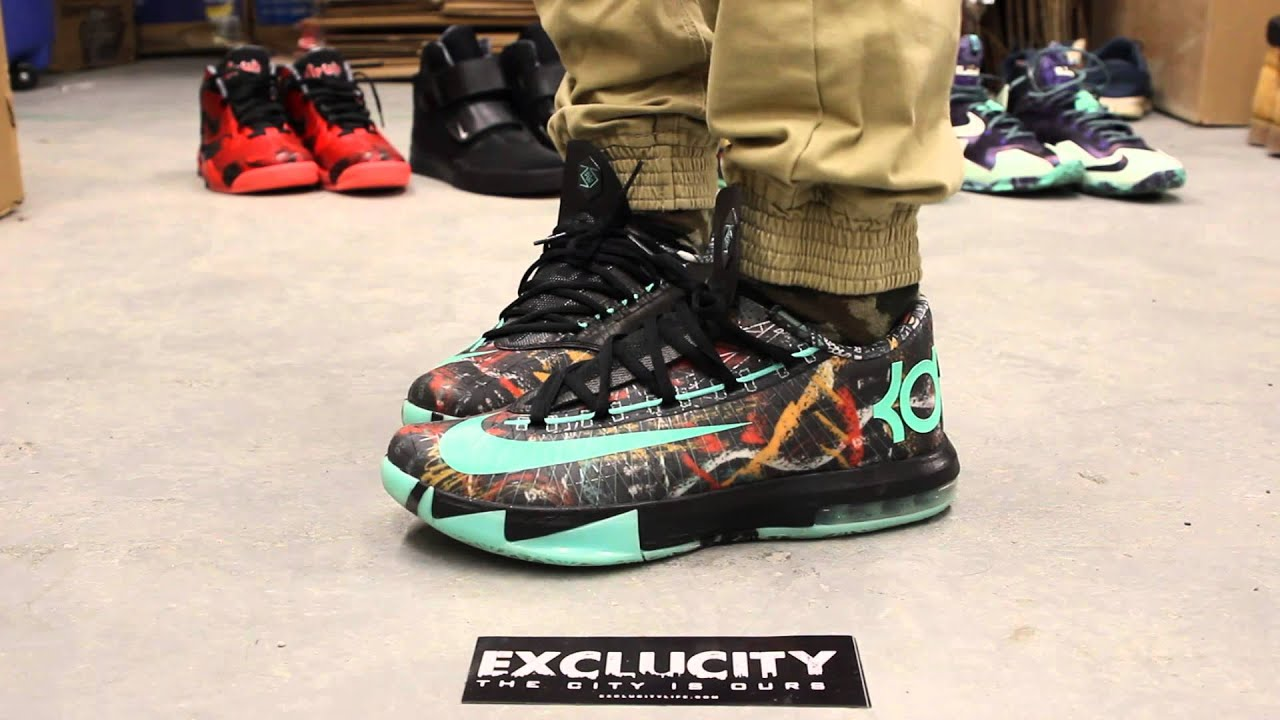 "KD VI AS ""Illusion"" On-feet Video at Exclucity - YouTube"