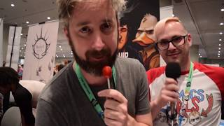 Chip Zdarsky Interview |  The Comics Pals @ NYCC 2017