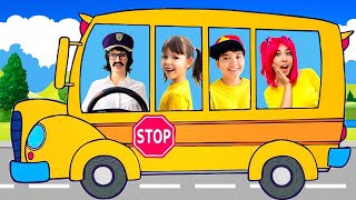 Wheels on the Bus | We are in the Car | Nursery Rhymes and Kids Songs
