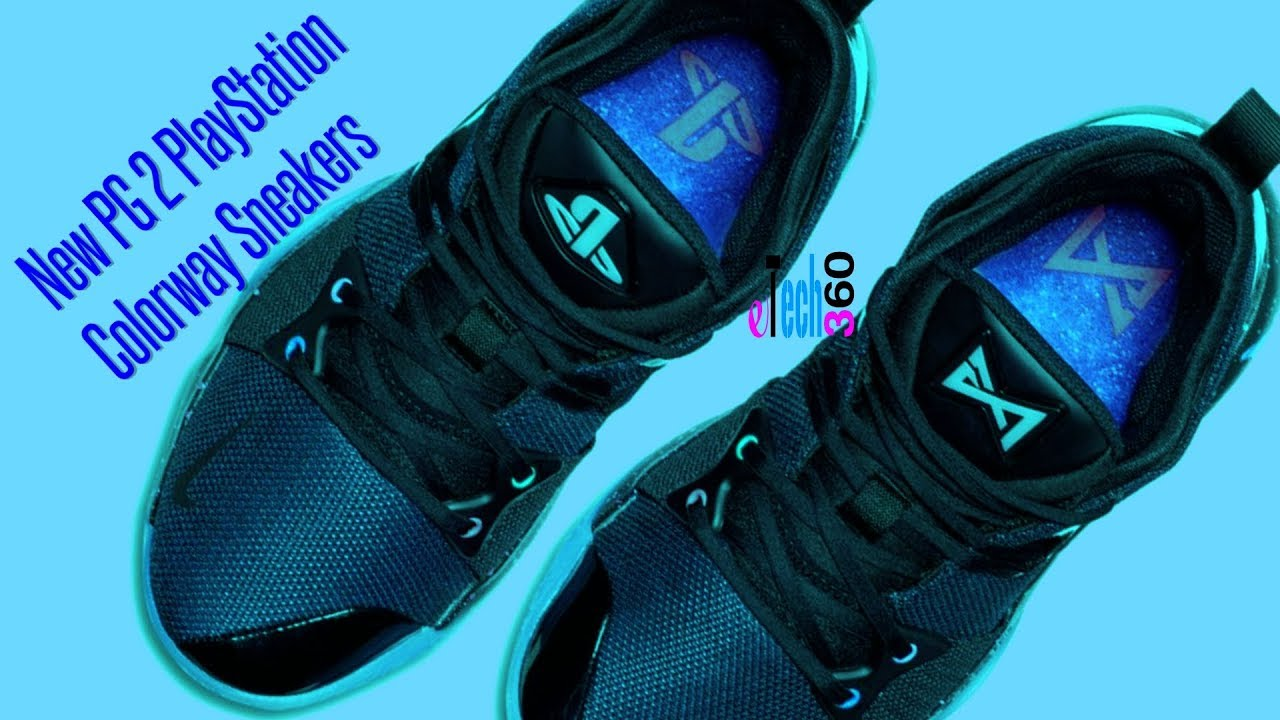 promo code e7bf5 af9fa New PG 2 PlayStation Colorway Sneakers Reveal and Price Features And Specs