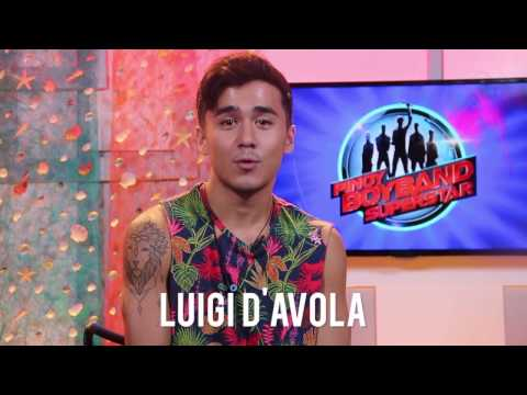 Get to know LUIGI D'AVOLA from Pinoy Boyband Superstar! | QUICKMYX