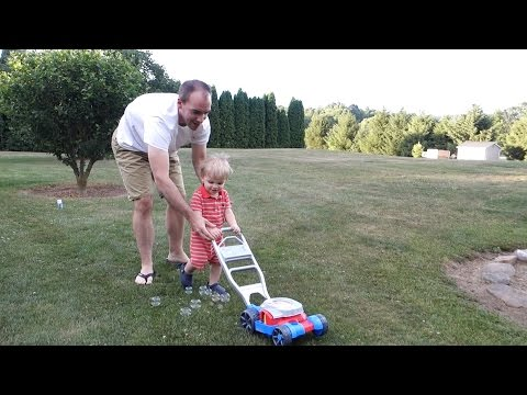 Fisher-Price Bubble Mower Review