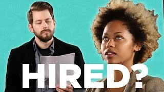 """If Job Interviews Were Like """"The Voice"""""""