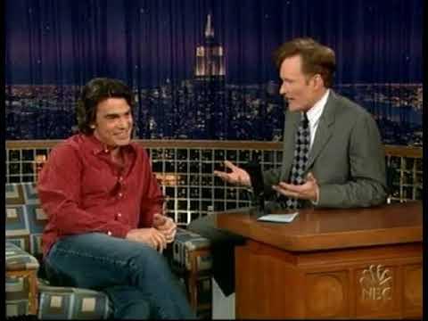Conan O'Brien 'Peter Gallagher 11/30/04