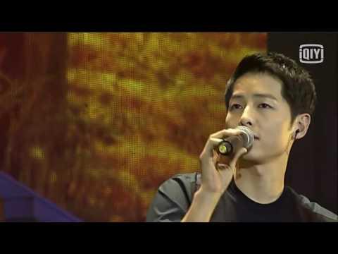 160514 송중기 Song Joong Ki FM sing Long Time No See  宋仲基唱中文歌好久不见
