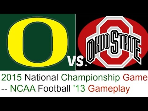 ncaa national championship football 2015 when is the first football game