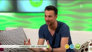 Markó Robi a Kismenők táncosát tanítja - tv2.hu/fem3cafe