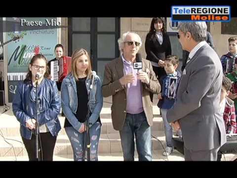 """Le due puntate della trasmissione """"Paese Mio"""" dedicate a Vinchiaturo"""
