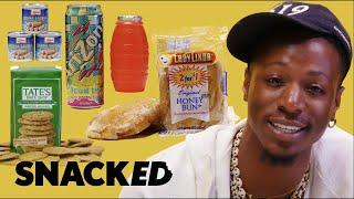 Joey Bada$$ Breaks Down New York Bodega Snacks | Snacked
