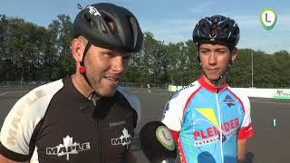 Ewout Beijeman en Hans v.d. Wetering winnen prijzen op het NK Skeeleren