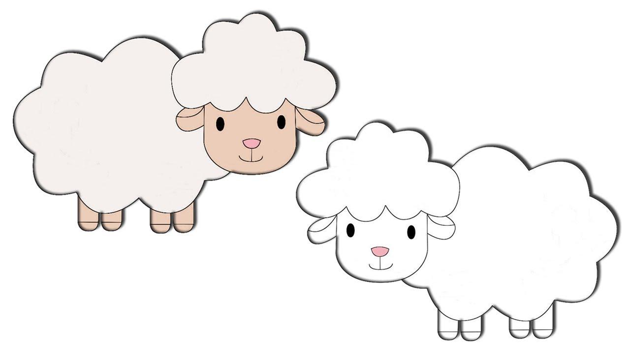 راس خروف كرتون