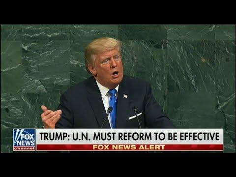 Trump address UN General Assembly