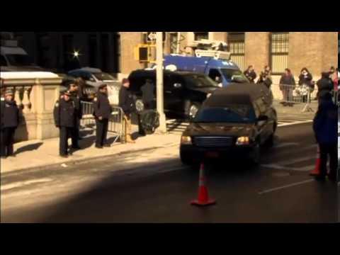 Actress Amy Adams seen at Philip Seymour Hoffman's wake