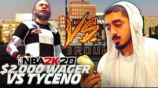 GMAN VS TYCENO | BEST OUT OF 7 FOR $2,000 | NBA 2K20