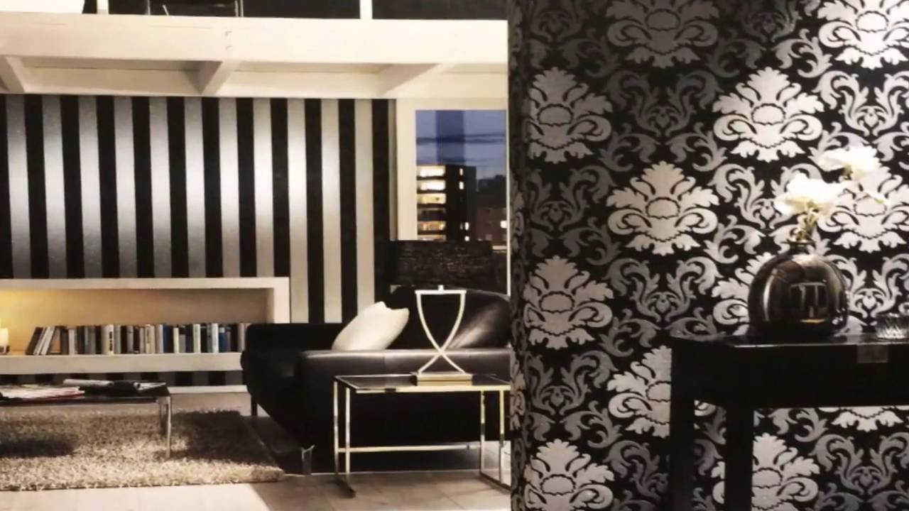 Amazing Wallcoverings  Wallpaper Designs For Wall Decor Carat - Wallpaper designs for living room wall