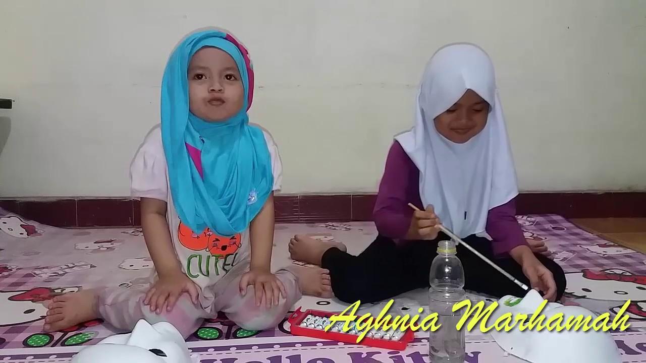 Mewarnai Topeng Dengan Crayon Aghnia Najlaa Youtube