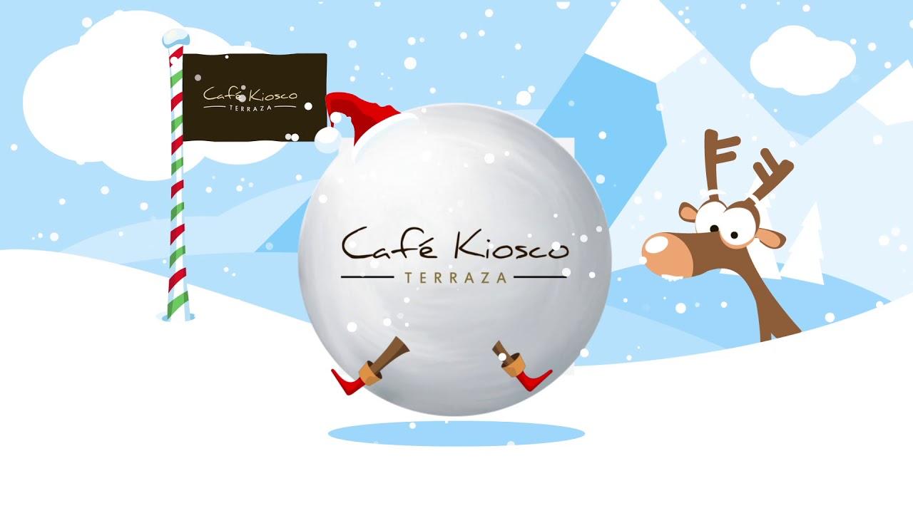 Cafe Terraza Kiosco Felices Fiestas Youtube