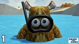 WRONGWORLD #1 - Teddy Bear Crashlands On Weird Alien Planet