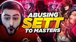 Yassuo | ABUSING SETT TO MASTERS!!!