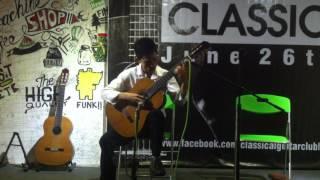 Asturias - Isaac Albeniz ( Hoàng Tín )