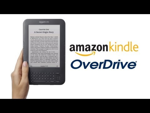 How to Use OverDrive with Your Amazon Kindle - YouTube