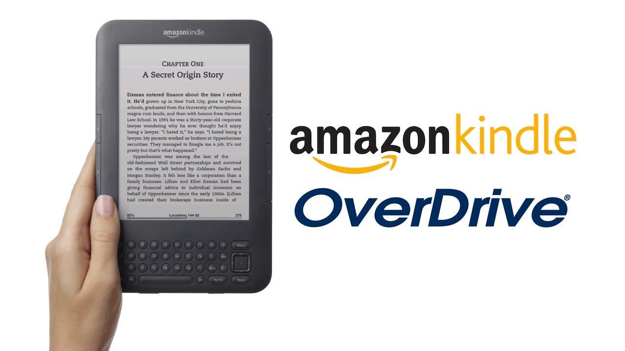 How to Use OverDrive with Your Amazon Kindle