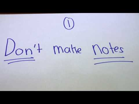 Top 5 tips for IB Exams!