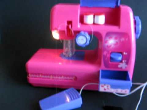 Singer zig zag chainstitch sewing machine a2207 (threading.