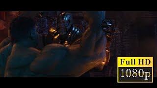 Мстители: Война бесконечности - Танос против Халка.