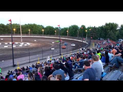 Sycamore Speedway 6/17/16 - compact heat