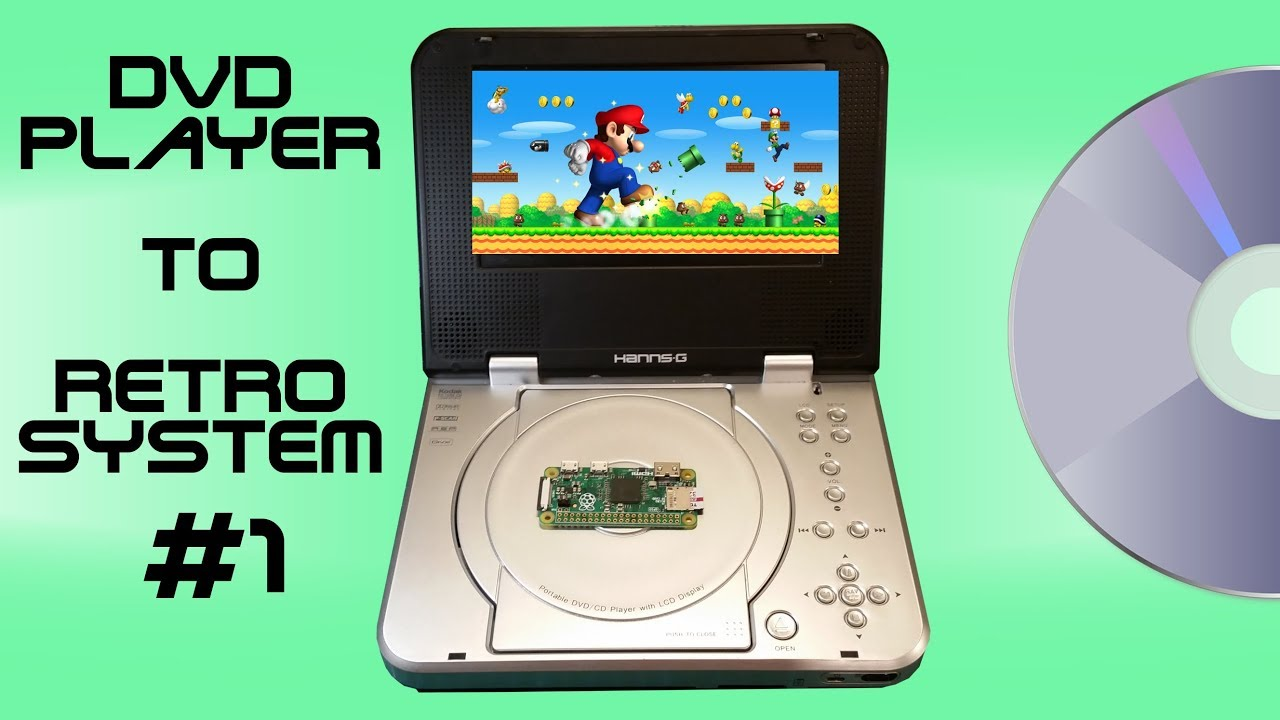 dvd player to retro portable games system youtube. Black Bedroom Furniture Sets. Home Design Ideas