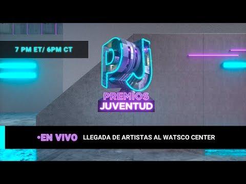 EN VIVO: Así llegan las estrellas de la música a Premios Juventud