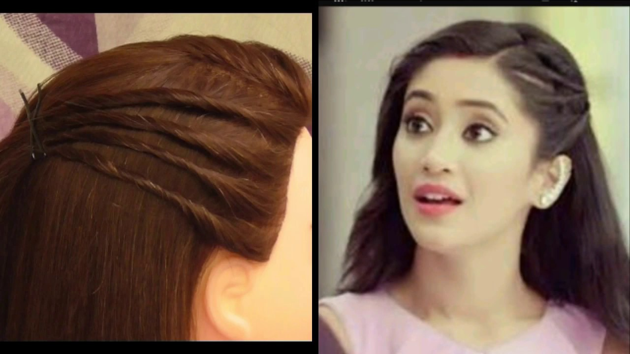 easy everyday college hairstyle for girls inspired by naira awesome outgoing girls hairstyle