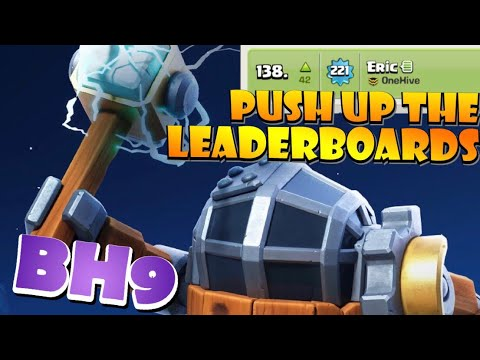 THIS Strategy Got Me On BH9 Leader Boards! Best BH9 Attack Strategies In Clash Of Clans