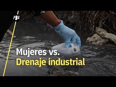 Mujeres nahuas se oponen a drenaje industrial