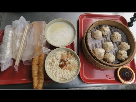 Thumbnail: A Typical Traditional Taiwanese Breakfast
