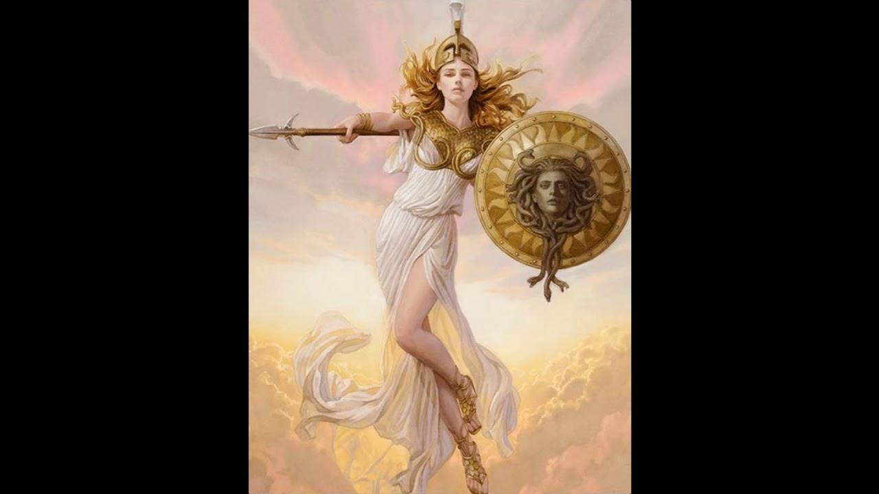 greek mythology and athena
