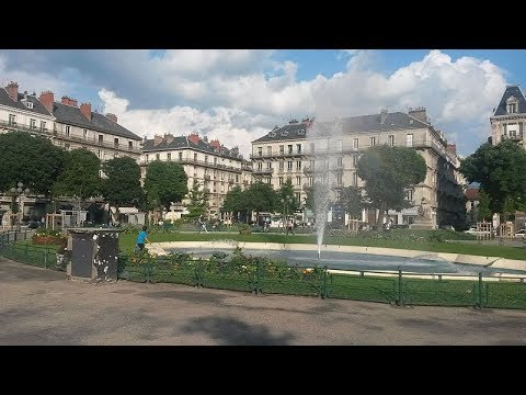 Places to see in ( Grenoble - France ) Place Victor Hugo