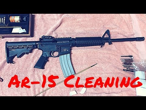 AR-15 Disassembly & Cleaning