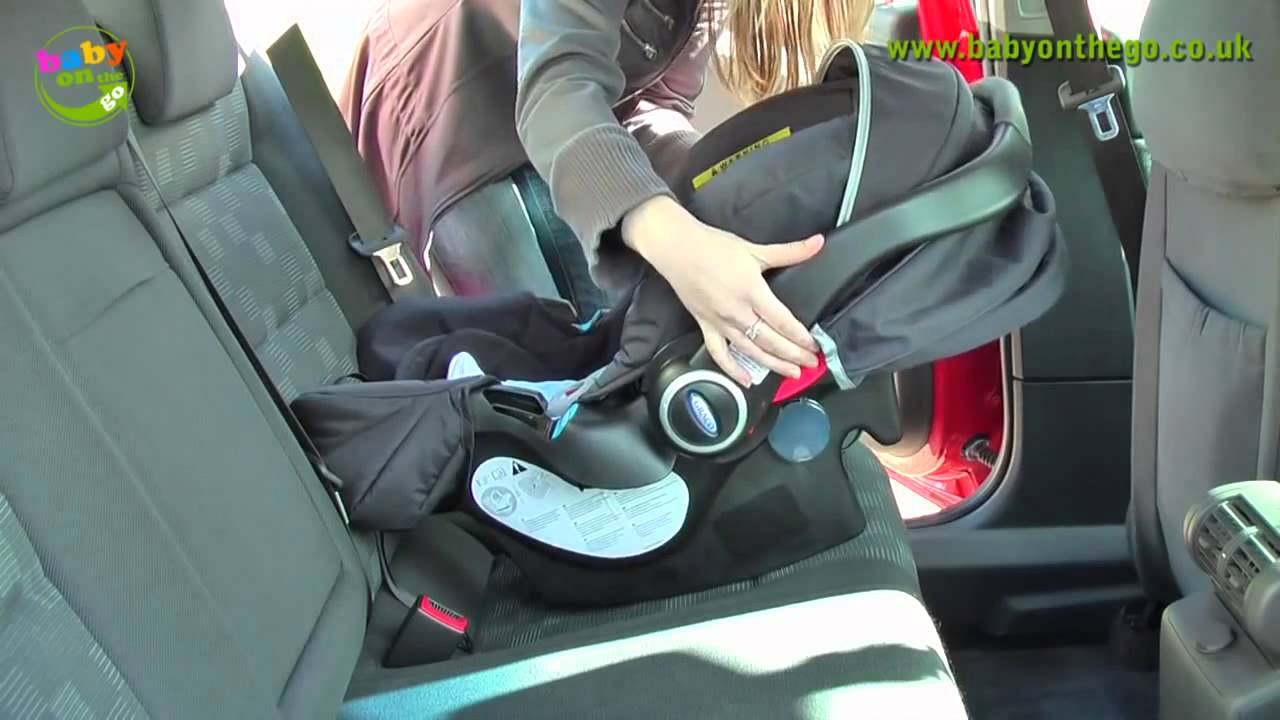 Автокресло переноска 0-12 Brevi Smart Silverline - YouTube