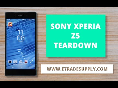 How To Fix Cracked Xperia Z5 For Screen Replacement