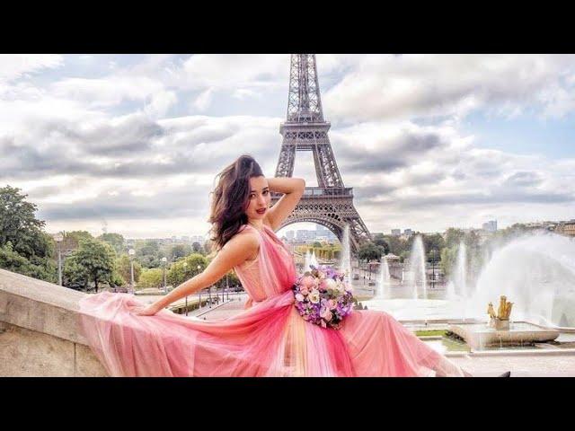 خلفيات رائعة بنات في مدينة باريس جمال برج إيفل Youtube
